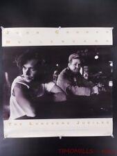 1987 John Cougar Mellencamp The Lonesome Jubilee Record Store Promo Poster Vtg