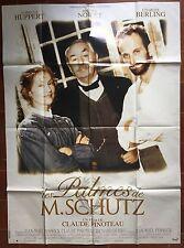 Affiche LES PALMES DE M. SCHUTZ Claude Pinoteau ISABELLE HUPPERT 120x160cm *D