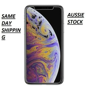 iPhone XS XS Max XR Tempered Glass Screen Protector 5D 9D Full Cover  For Apple