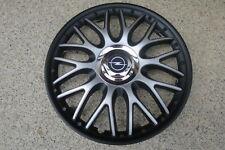 4 Alu-Design Radkappen 15 Zoll Orden black matt für Opel