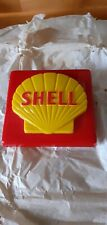 More details for shell petrol pump brand plate  new old stock