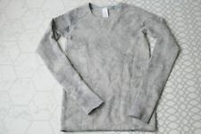 ivivva Girls Gray Swiftly Tech Fly Long Sleeve Shirt Crinkle Dye Size 8