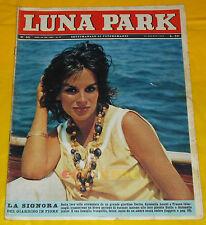 LUNA PARK 1963 n. 35 Antonella Lualdi, Tata Giacobetti
