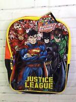 05e7ff8b4b2d DC Comics Justice League 15in Kids Boys School Backpack Bookbag Batman  Superman