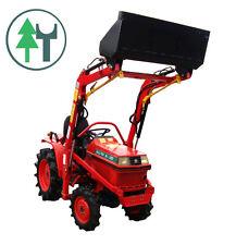 Traktor Schlepper Allrad Kubota B1-15 Bulldog Frontlader neu lackiert überholt