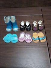 American Girl Shoe Lot 6 Pairs