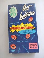 1954 Art Linkletter's Game of People are Funny Party Game, Complete