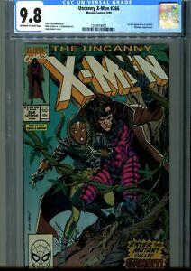 Uncanny X-Men #266 Gambit 1st FULL Appearance (w/Mystique) Comic Book CGC 9.8
