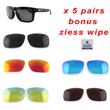 5 x Polarized Replacement Lenses For-Oakley Holbrook 9102 Sunglasses Value Packs