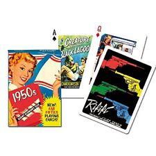 1950s set of 52 playing cards + jokers (gib)