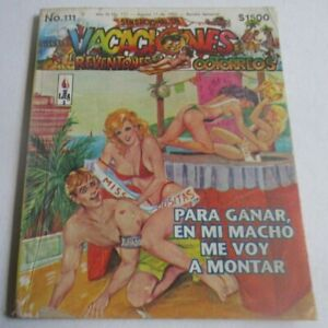1990s VACACIONES comic CATFIGHT COVER sexy WOMEN BEAUTY PAGEANT beach BIKINI FUN