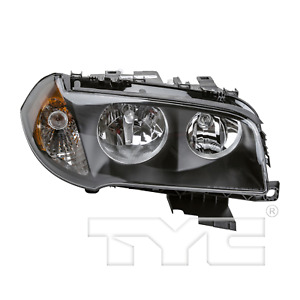 TYC Right Halogen Headlight For BMW X3 2004-2006 Models