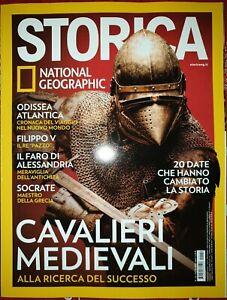 Rivista Storica National Geographic n 142 Novembre 2020 Cavalieri Medievali