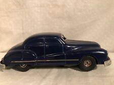 1940's GAMA 100 D.R.P.a. Tin clock work wind up toy car US Zone Germany