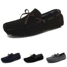 4 Color Mens Driving Moccasins Shoes Fur Inside Warm Outdoor Walking Sports 44 L