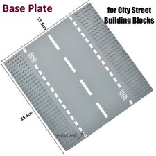 BEST Roads Base Plate for Building City Streets: STRAIGHT road - Fits LEGO