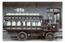 rp16989 - Steam Milk Lorry , F Nestle , Tutbury , Burton-on-Trent - photo 6x4
