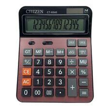 Gtttzen Electronic Desktop Calculator Ct-8840 with 14 Digit Large Display Solar>