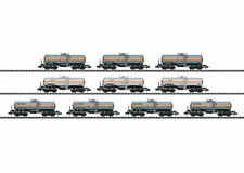 Trix Minitirix 15414 Gas Tank Wagon Set of 10
