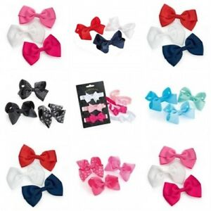 Hair Bows Baby Clips Accessories Girls Ribbon Toddler Hairpin Girl Accessory Pin