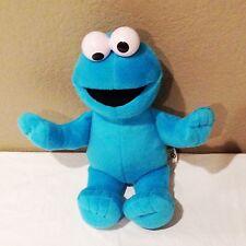 """SESAME STREET COOKIE MONSTER Blue Plush Doll Mattel 2009-12"""""""