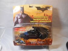 2005 MATTEL BATMAN BEGINS ARMORED SPEEDBIKE MOTO ARMADA REV N GO TOY
