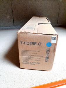 TOSHIBA toner T-FC25E-C cyan 6AJ00000072 for e-STUDIO 2040c 3040c 4540c– NEW ORI