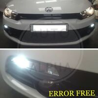 VW SCIROCCO LED XENON WHITE SIDE LIGHT BULBS UPGRADE CANBUS ERROR FREE SMD