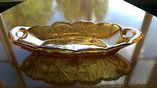Carnival Glass- oval dish