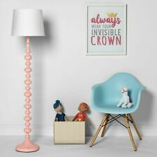 Stacked Ball Floor Lamp - Pillowfort pink