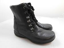 Clarks Women's Ankle Boots  8.5  Black Lace Up
