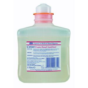 DEB Instant Foam Hand Alcohol Refill Cartridge 1 Litre Ref N03809 557426