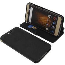 Funda para BLU Vivo XL 2 Book Style PROTECTORA telefóno móvil estilo libro NEGRA