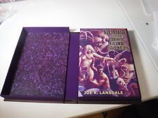 SIGNED LETTERED SUBTERRANEAN Bubba and the cosmic bloodsuckers by Joe R Lansdale