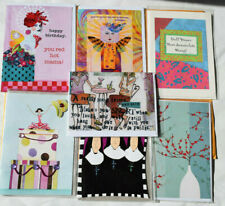 Greeting Variety Cards 7 ea, 2 paula best birthday cards, 1ea curly girl 3 other