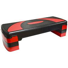 HANSSON Aerobic Fitness Stepper Steppbrett Step 80x30cm 3-fach Höhe verstellbar