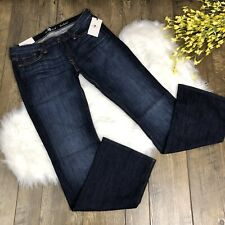 89e17a76dd7 NWT 7 For All Mankind Original Bootcut Jeans Women's Size 32 MSRP $198