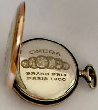 Antique Silver Omega Pocket Watch