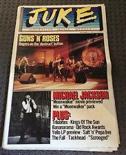 JUKE Australian Music Magazine Dec 17th 1988 #712 Guns 'N' Roses Michael Jackson