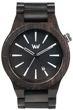 WeWood Wooden Watch - Assunt Black (WASBLK)