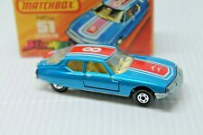 MATCHBOX SUPERFAST STREAKERS *  CITROEN SM 51 * OVP * TOP