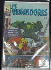 LOS VENGADORES #59 (6.0) PRESENTA EL HOMBRE DE HIERRO Y CAPTAIN AMERICA 1967 HTF