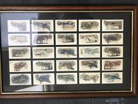 Lambert and Butler Classic Cars Frame with classic cars
