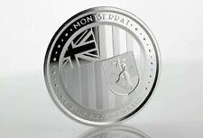 2 $ Dollar Eastern Caribbean 8 EC8 Emerald Isle Montserrat 1 oz Silber 2018