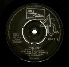 DIANA ROSS AND THE SUPREMES Baby Love Vinyl 7 Inch Tamla Motown TMG 915 1974