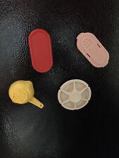 Vintage Tupperware Miniatures Refrigerator Magnets Set Of 4