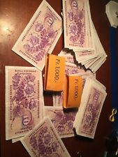 (1) 1960's 10 Swiss Suisse Francs Banknote Bill Money Note Gottfried Keller L@@K