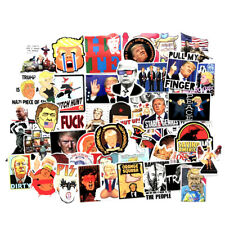 55 Pcs - Funny Donald Trump Stickers Pack- Usa Seller - Fast Shipping