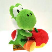 "New Super Mario Bros 7"" Yoshi & Apple Cute Soft Plush Toy Doll^MX2660"
