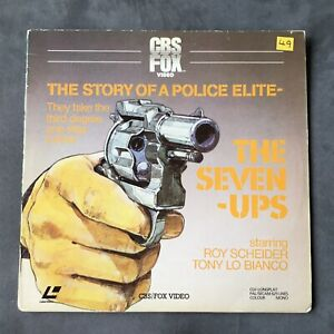 THE SEVEN UPS The Story Of A Police Elite Laserdisc